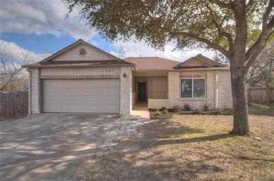 Round Rock Single Family Home For Sale: 1905 Purple Sage Cv