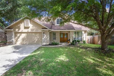 Round Rock Single Family Home For Sale: 2106 Green Oaks Cir