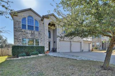 Leander Single Family Home Pending - Taking Backups: 132 Swallow Cv