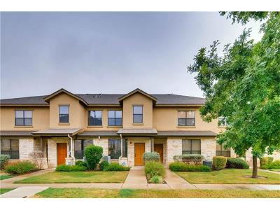Round Rock Condo/Townhouse For Sale: 2101 Town Centre Dr #1604