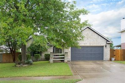 Round Rock Single Family Home Pending - Taking Backups: 1713 Lantana