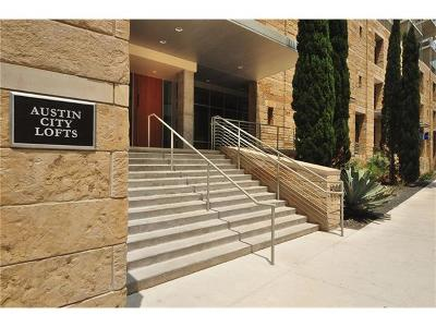 Austin Condo/Townhouse For Sale: 800 W 5th St #1004