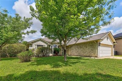 Hutto Single Family Home For Sale: 530 Meadowside Dr
