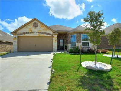 Manor Single Family Home For Sale: 13901 Nelson Houser St