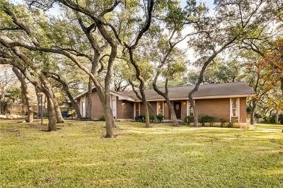 Austin Single Family Home Active Contingent: 8807 Silverhill Cv