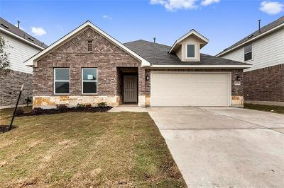 Manor Single Family Home For Sale: 11817 Carrizo Springs Path