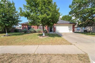 Pflugerville Single Family Home For Sale: 1212 Firebush Dr