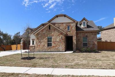 Round Rock Single Family Home For Sale: 4110 Capora Way
