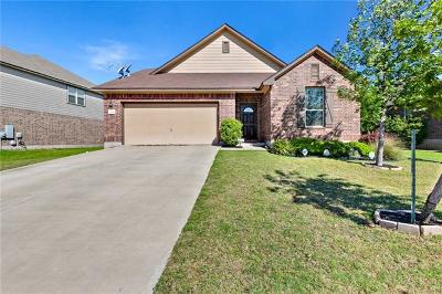 Round Rock Single Family Home For Sale: 1109 Sussex Pl