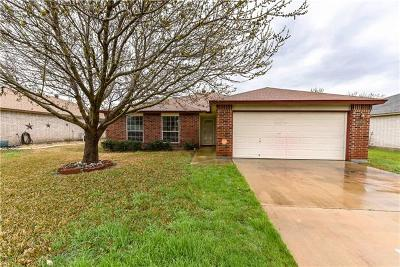 Killeen TX Single Family Home For Sale: $154,900