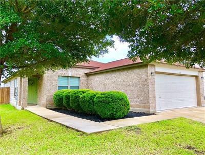 San Marcos Single Family Home For Sale: 115 Teron Dr