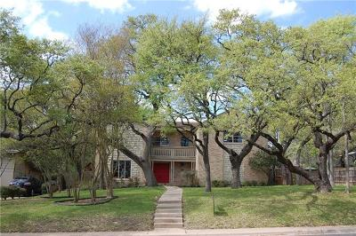 Travis County, Williamson County Single Family Home For Sale: 7604 Mesa Dr