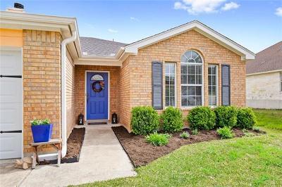 Kyle Single Family Home Pending - Taking Backups: 238 Jerry Lees Trl