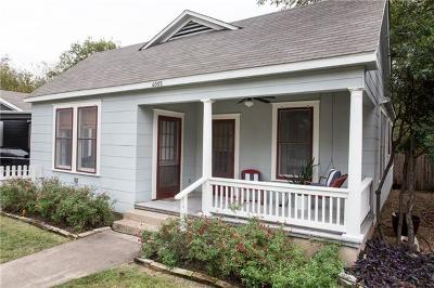 Austin Single Family Home For Sale: 4005 Avenue F