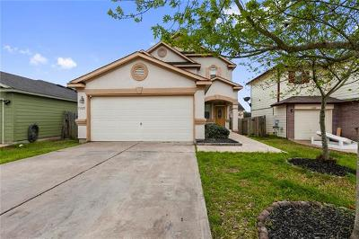 Del Valle Single Family Home Pending - Taking Backups: 13325 Sea Biscuit Dr