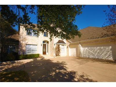 Round Rock Single Family Home For Sale: 2238 Hamlet Cir