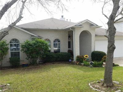 Round Rock Single Family Home For Sale: 1315 Quicksilver