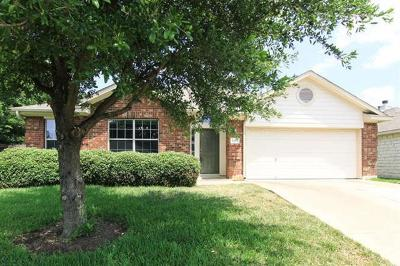 Round Rock Single Family Home For Sale: 1003 Blackburn Pl