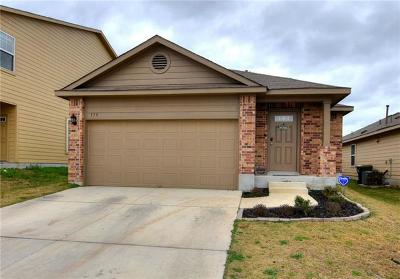 San Marcos Single Family Home For Sale: 175 Lake Gln