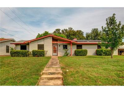 Travis County Single Family Home For Sale: 4708 Mount Vernon Dr