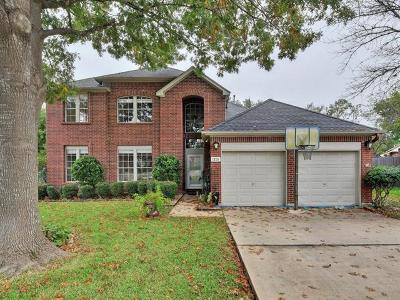 Cedar Park Single Family Home For Sale: 1210 Dove Cir