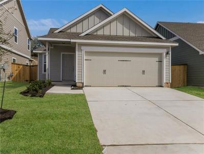 Liberty Hill Single Family Home For Sale: 152 Red Buckeye Loop