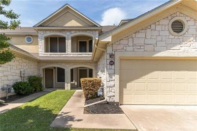 Round Rock Condo/Townhouse For Sale: 3300 Forest Creek Dr #10