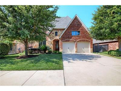 Round Rock Single Family Home For Sale: 4215 Fairmeadow Dr