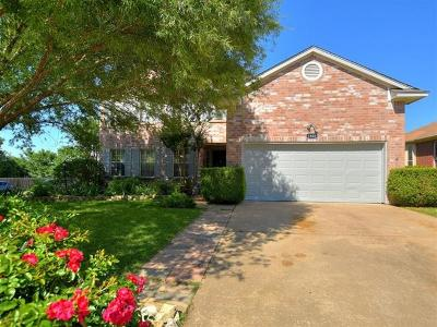 Cedar Park Single Family Home Pending - Taking Backups: 1800 Iris Ln