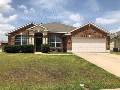 Hutto Single Family Home For Sale: 1200 Utopia Ln
