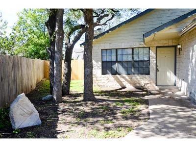 Cedar Park TX Single Family Home For Sale: $274,990