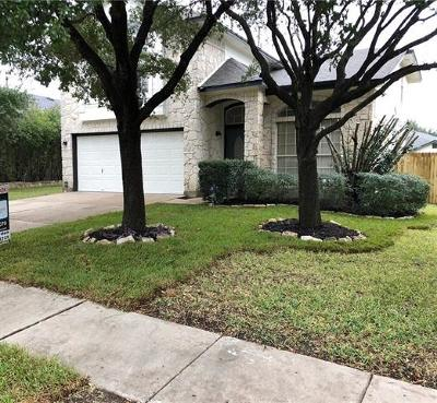 Round Rock Single Family Home For Sale: 17705 Fort Leaton Dr
