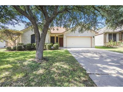 Round Rock Single Family Home Pending - Taking Backups: 8334 Liberty Walk Dr
