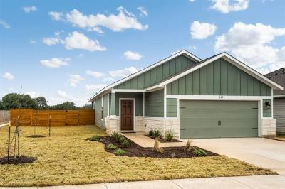 Leander Single Family Home For Sale: 144 Ancellotta Way