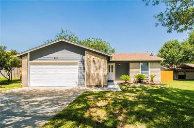 Buda Single Family Home For Sale: 406 El Secreto St