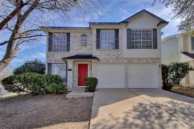 Hays County, Travis County, Williamson County Single Family Home Pending - Taking Backups: 8601 Dandelion Trl