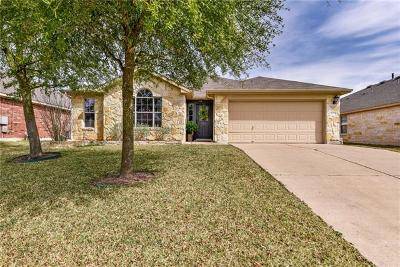 Pflugerville Single Family Home Pending - Taking Backups: 18421 Dry Brook Loop