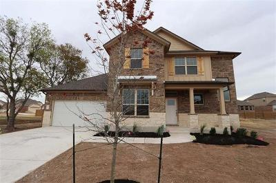 Round Rock Single Family Home For Sale: 3520 De Soto Loop