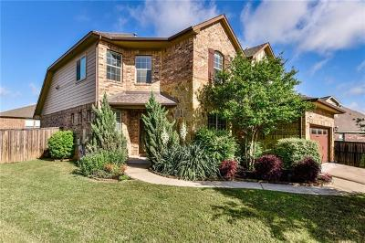 Round Rock Single Family Home For Sale: 2948 Castellan Ln
