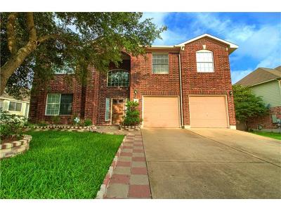 Pflugerville Single Family Home For Sale: 700 Caribou Ridge Trl