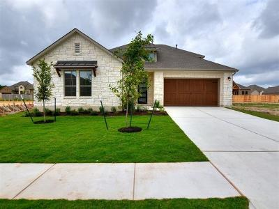 Leander Single Family Home For Sale: 1601 Dusty Bnd