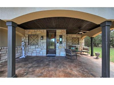 Lago Vista Single Family Home For Sale: 20010 Victoria Chase Rd