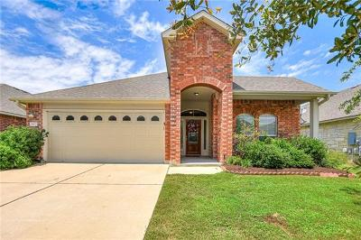 Cedar Park Single Family Home For Sale: 1803 Conn Creek Rd