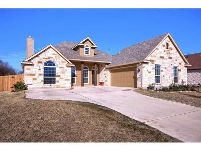 Bastrop County Single Family Home For Sale: 808 Savannah Cv