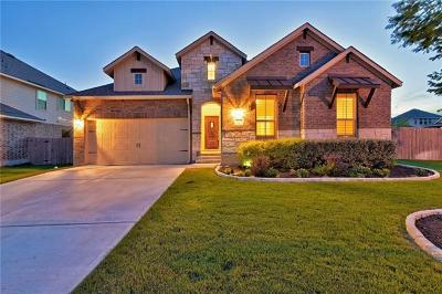 Pflugerville Single Family Home For Sale: 20724 Song Bird Dr
