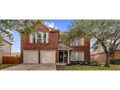 Pflugerville Single Family Home Pending - Taking Backups: 539 Broken Feather Trl