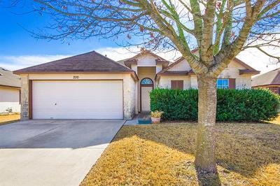Kyle Single Family Home For Sale: 220 E Beau Ln