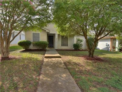 Pflugerville Single Family Home For Sale: 137 Segovia Way