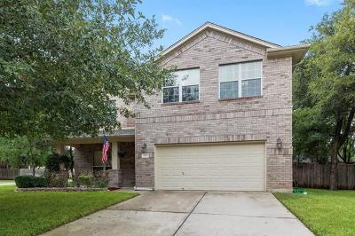 Round Rock Single Family Home For Sale: 218 Creek Ridge Ln