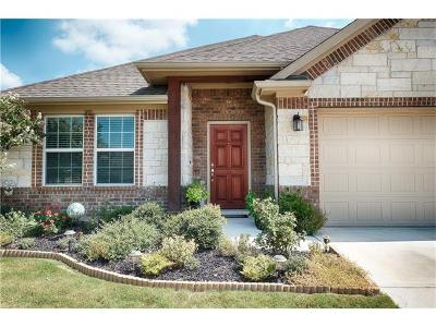 Round Rock Single Family Home For Sale: 8241 Arezzo Dr